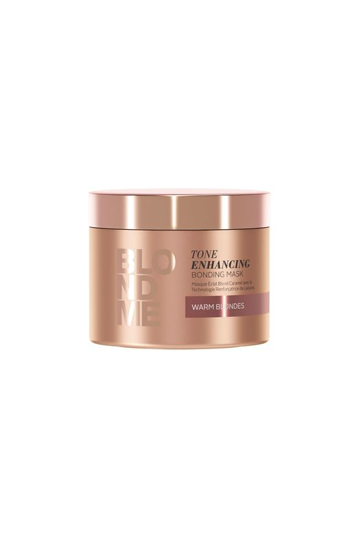 Schwarzkopf Blondme Tone-Enhancing Bonding Mask Warm Blondes