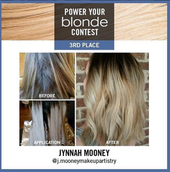 Formula: Ombre using Scruples#PowerBlonde Balayage Clay Lightener <br />Process: Scruples #TrueIntegrity 5na with 10 vol melted into #Scruples Power Blonde Balayage Clay Lightener with 30 vol then toned with True Integrity 9a with Demi for 10 minutes⠀⠀