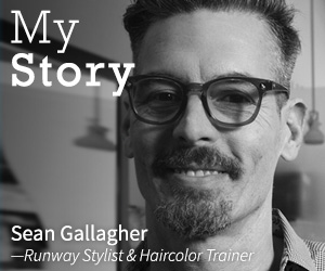 Bio Ionic's Sean Gallagher - Runway Stylist and Haircolor Trainer