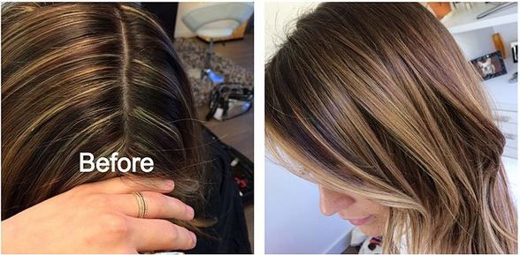 HOW-TO: Fix Stripey Highlights for a Brunette