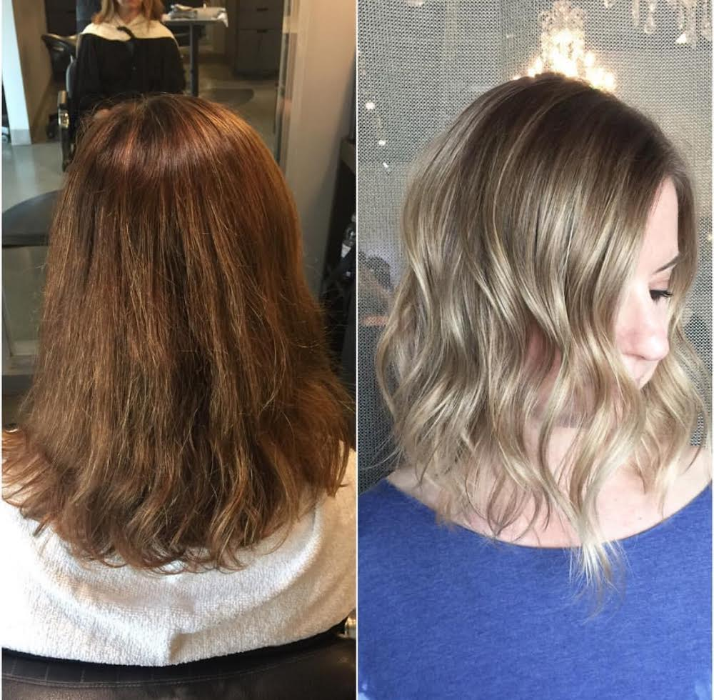 Makeover: Faded and Damaged To Bright, Ashy Blonde