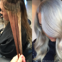 MAKEOVER: Multi-shade to Silver Bleach Out