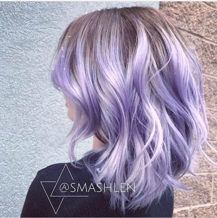 @smashlen's soft and feminine Pulp Riot Lavender.
