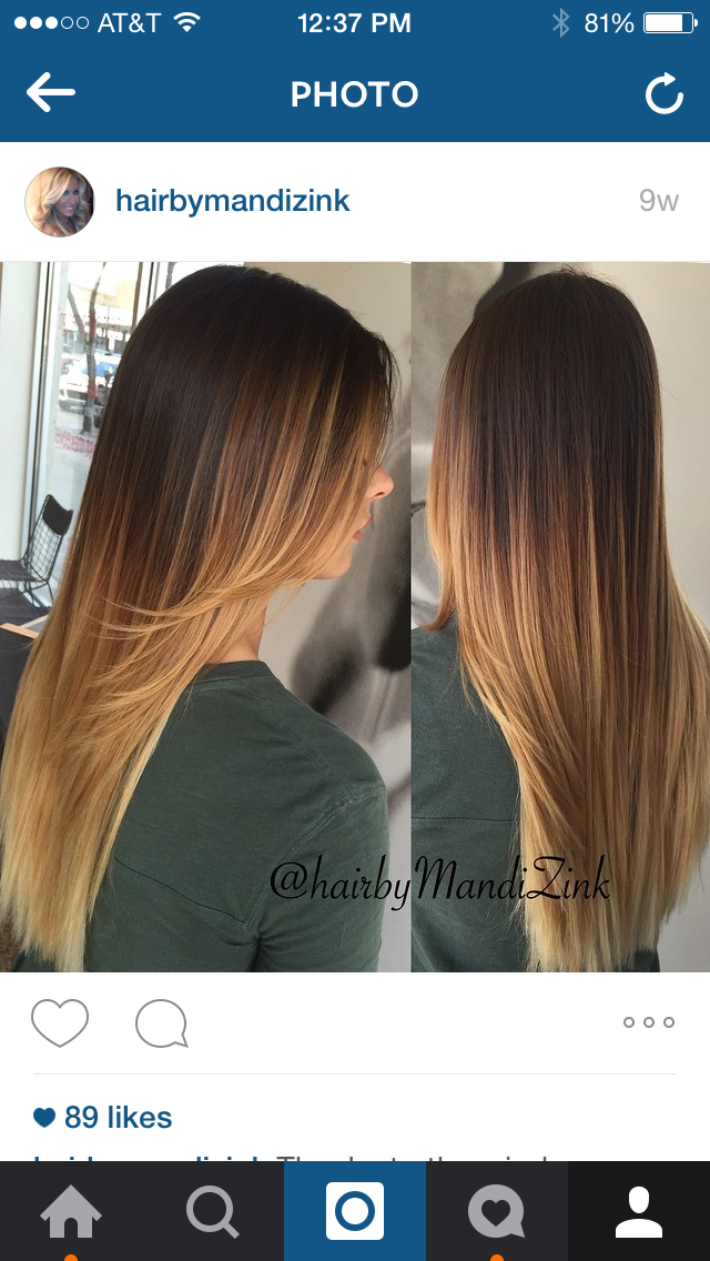 Sombre: A softer version of ombre, but not as soft as balayage.