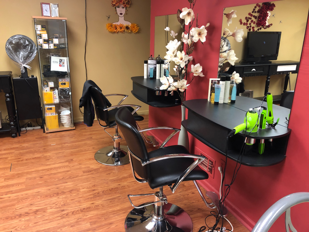 The SOS Salon in Wanaque, NJ  - THE FINISHED RESULT!!!