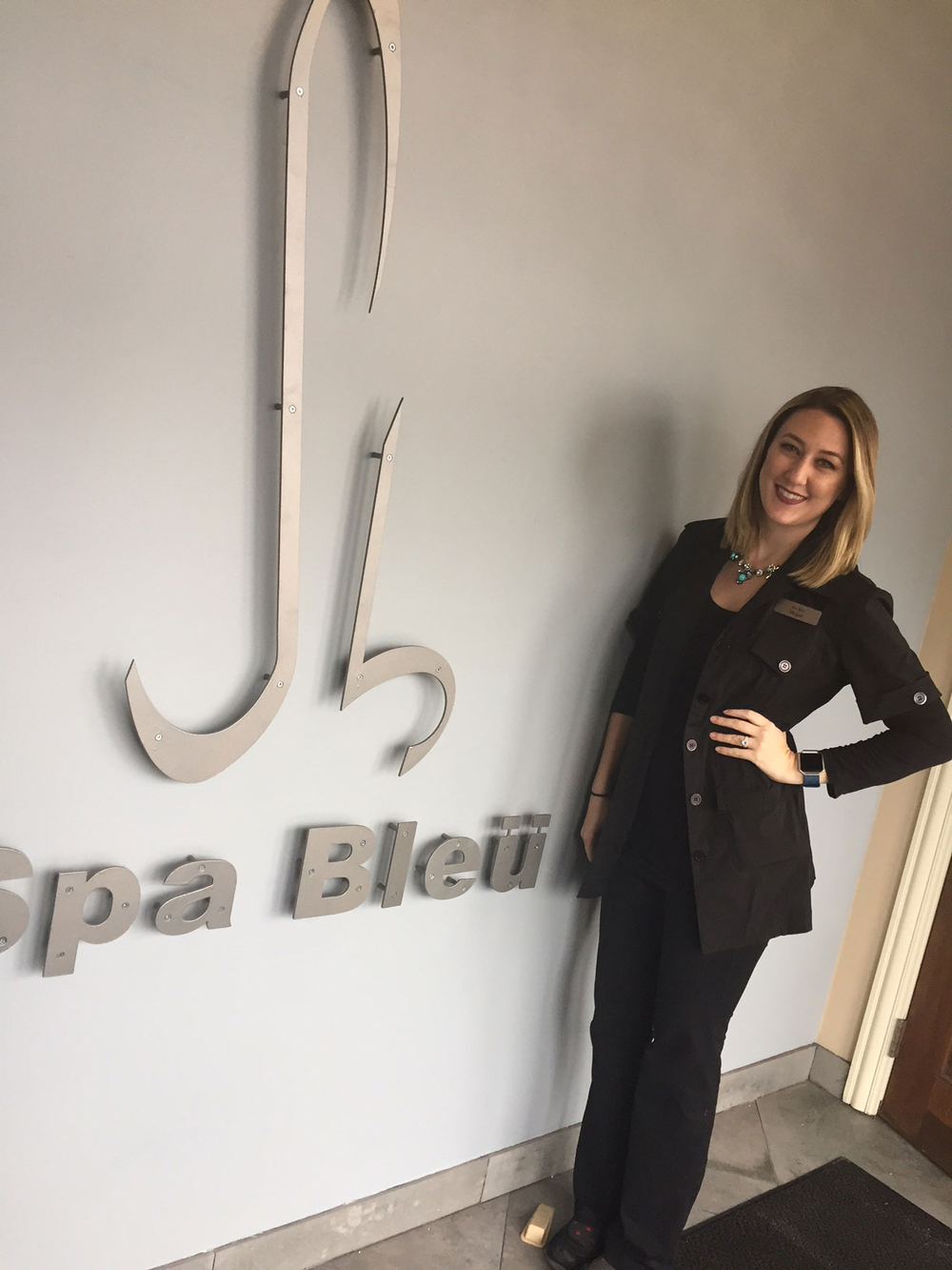 <strong>Meet skin care specialist and nail technician Megan Andrews.</strong>