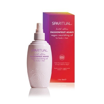 SpaRitual Introduces Limited Edition Passionfruit Agave Vegan Nourishing Oil for Body + Hair