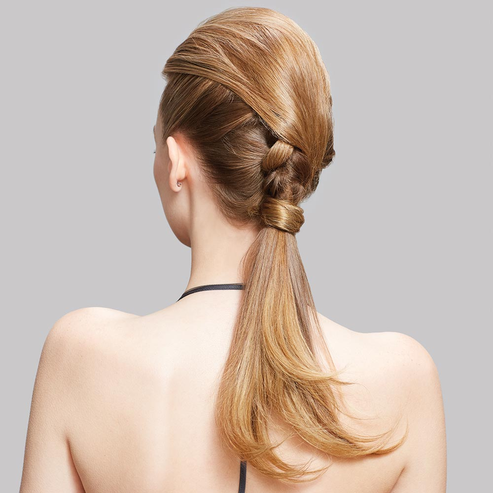 HOW-TO: Smooth Braided Ponytail for a Casual or Formal Occasion