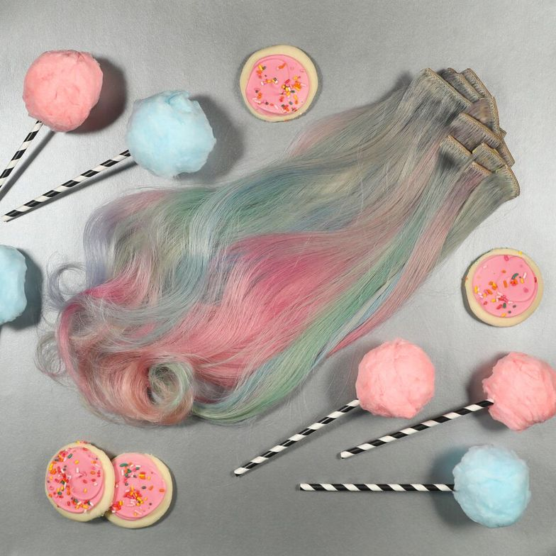 Pastel Cotton Candy by Steph Hodges