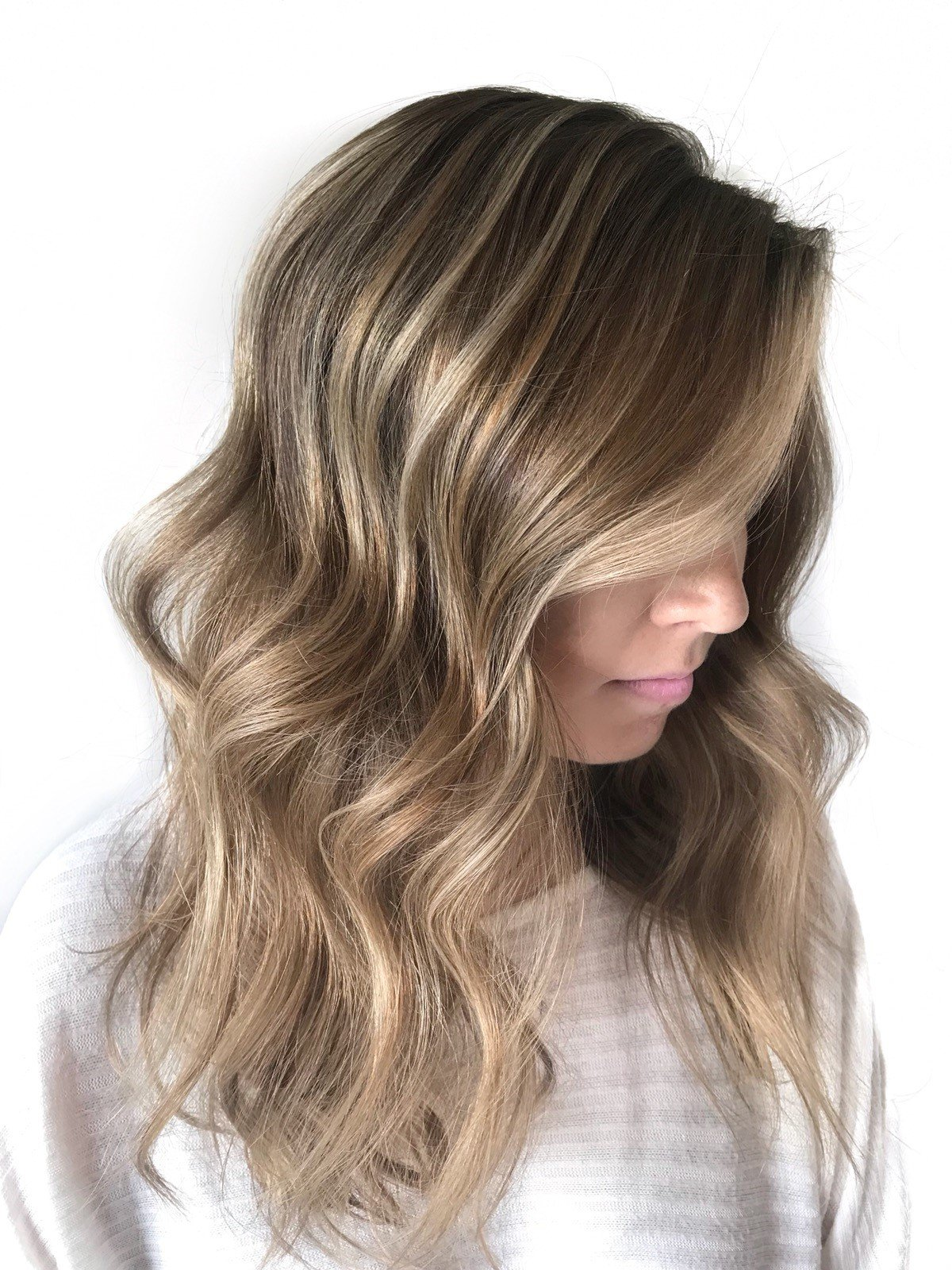 """I'm always excited to test new balayage products,"" says Steph Shellengberger."