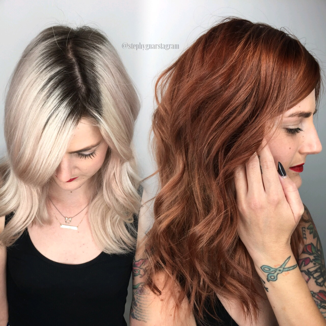 Makeover: Platinum To Dimensional Copper