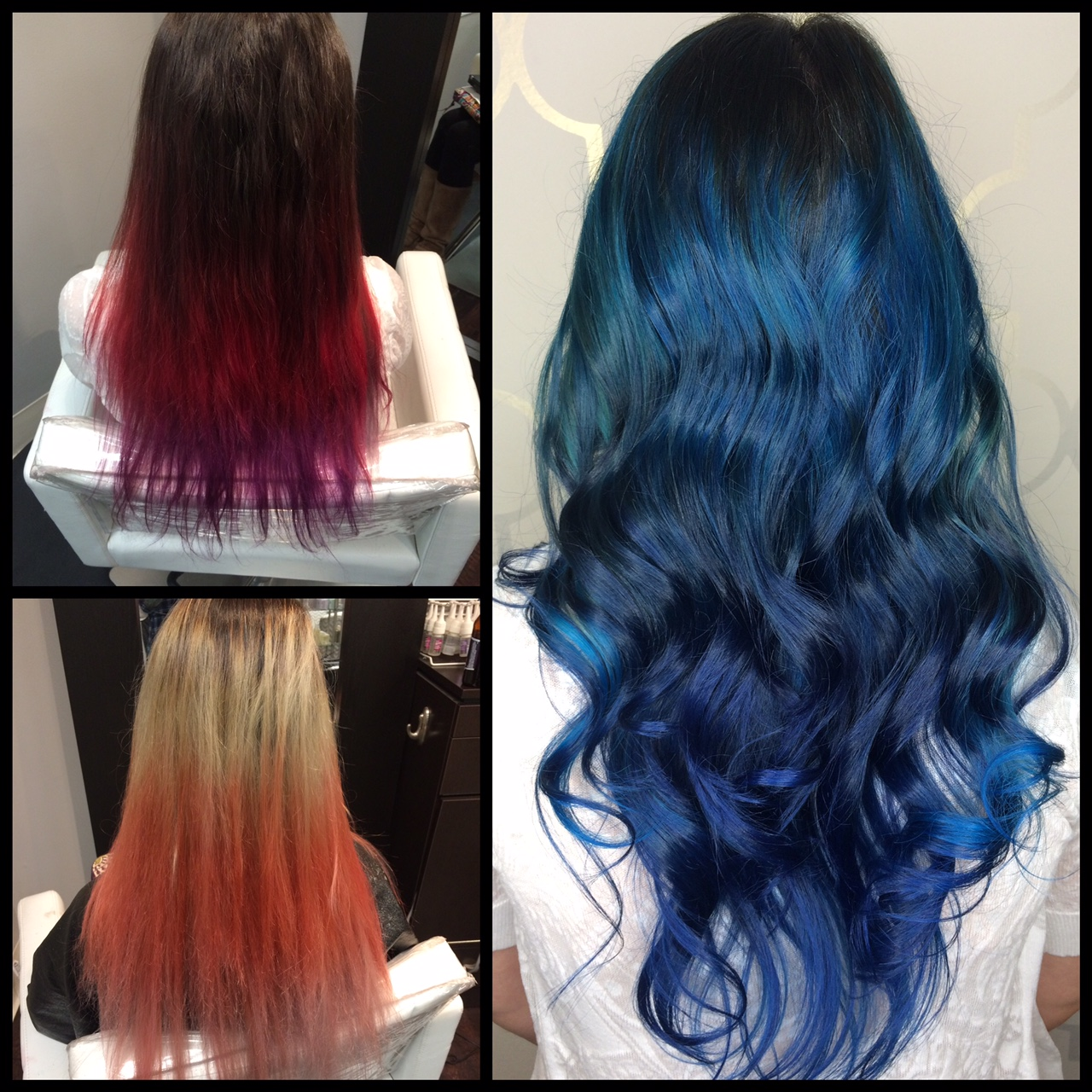 From Pinks and Purples To A Mermaid Bold Blue