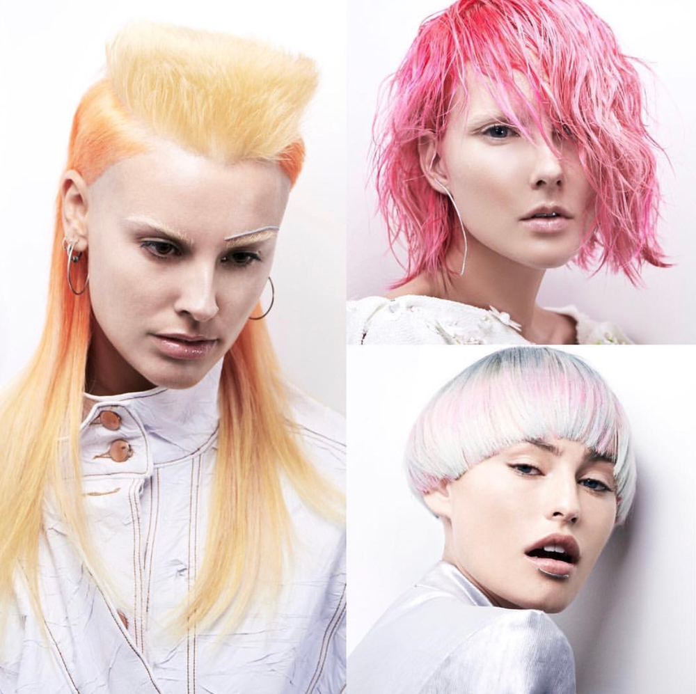 Hair color: Stevie Corthine | Hair Stylist: Kobi Bokshish | MUA: Cherine Waddell | Styling: Lydia Jane