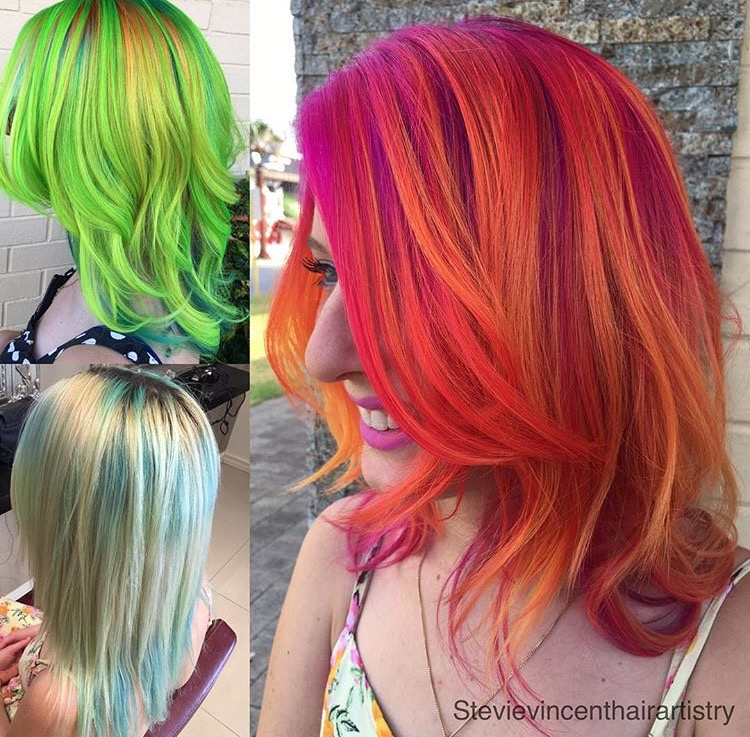 TRANSFORMATION: Lime Green To Fire Princess