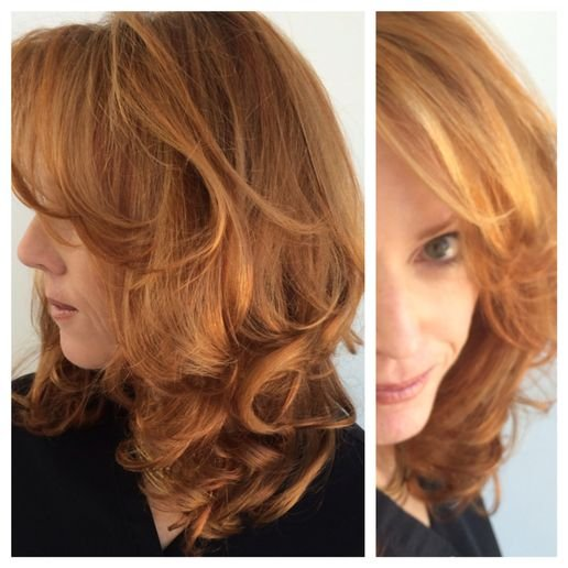 FORMULA HOW-TO: Strawberry-Blonde with High/Lowlights
