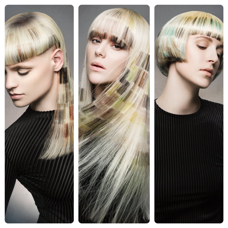 <strong>Student Hairstylist: </strong>Ali Haller, Aveda Institute Denver, Denver, CO