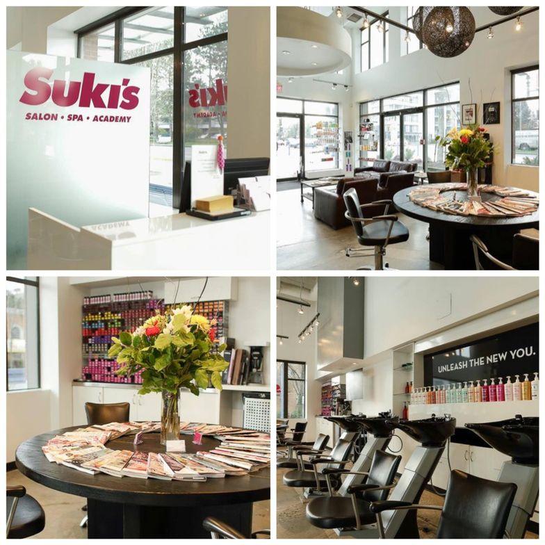 Interior shots of Suki's.