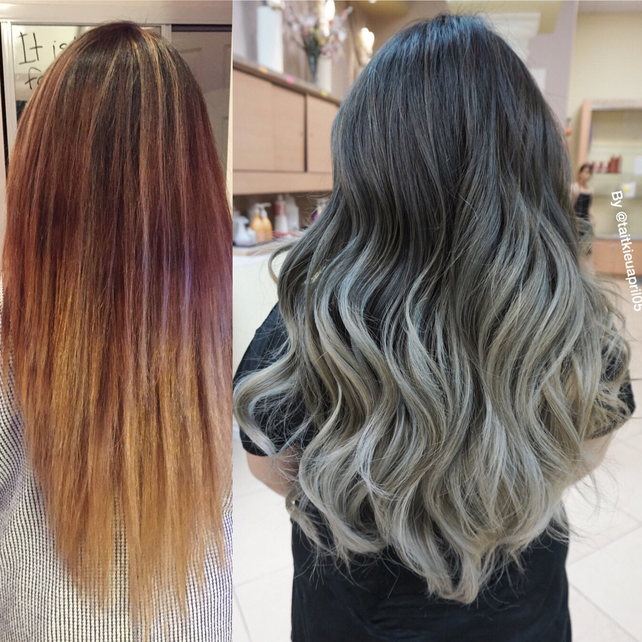 MAKEOVER: Silver Sombre Beauty