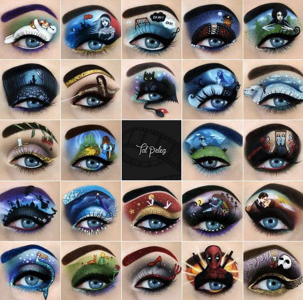 Eye on Israel: Makeup Artist Tal Peleg's Eye Art