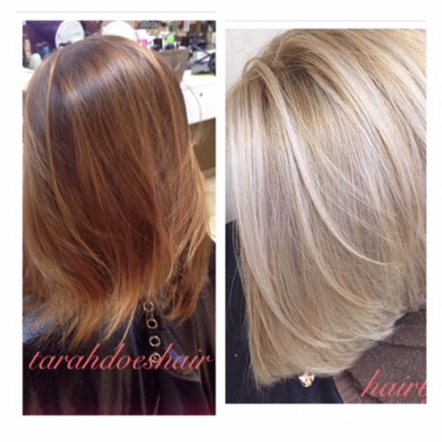 TRANSFORMATION: Going For (And GETTING) A Vibrant Blonde