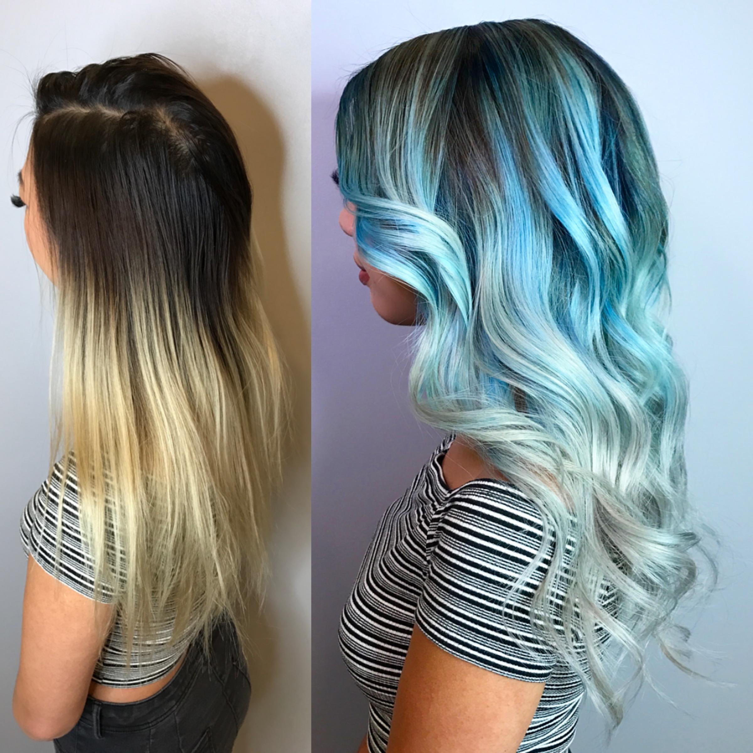 MAKEOVER: Blue Hues