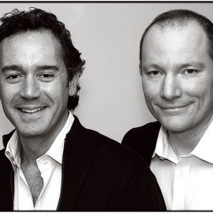 Daniel Kaner and Tev Finger, founders and co-presidents of Oribe Hair Care.