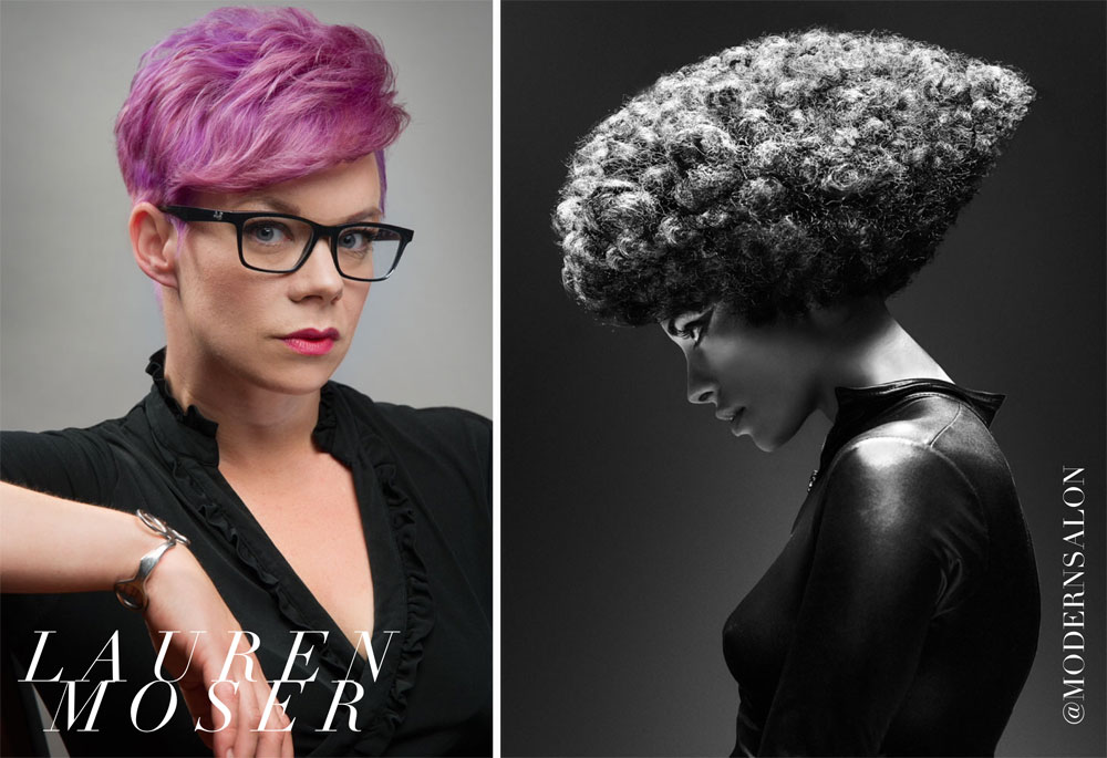 Texture Hairstylist of the Year, Lauren Moser