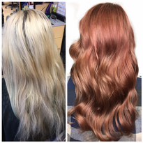 From Foiled and Damaged To Luscious Red