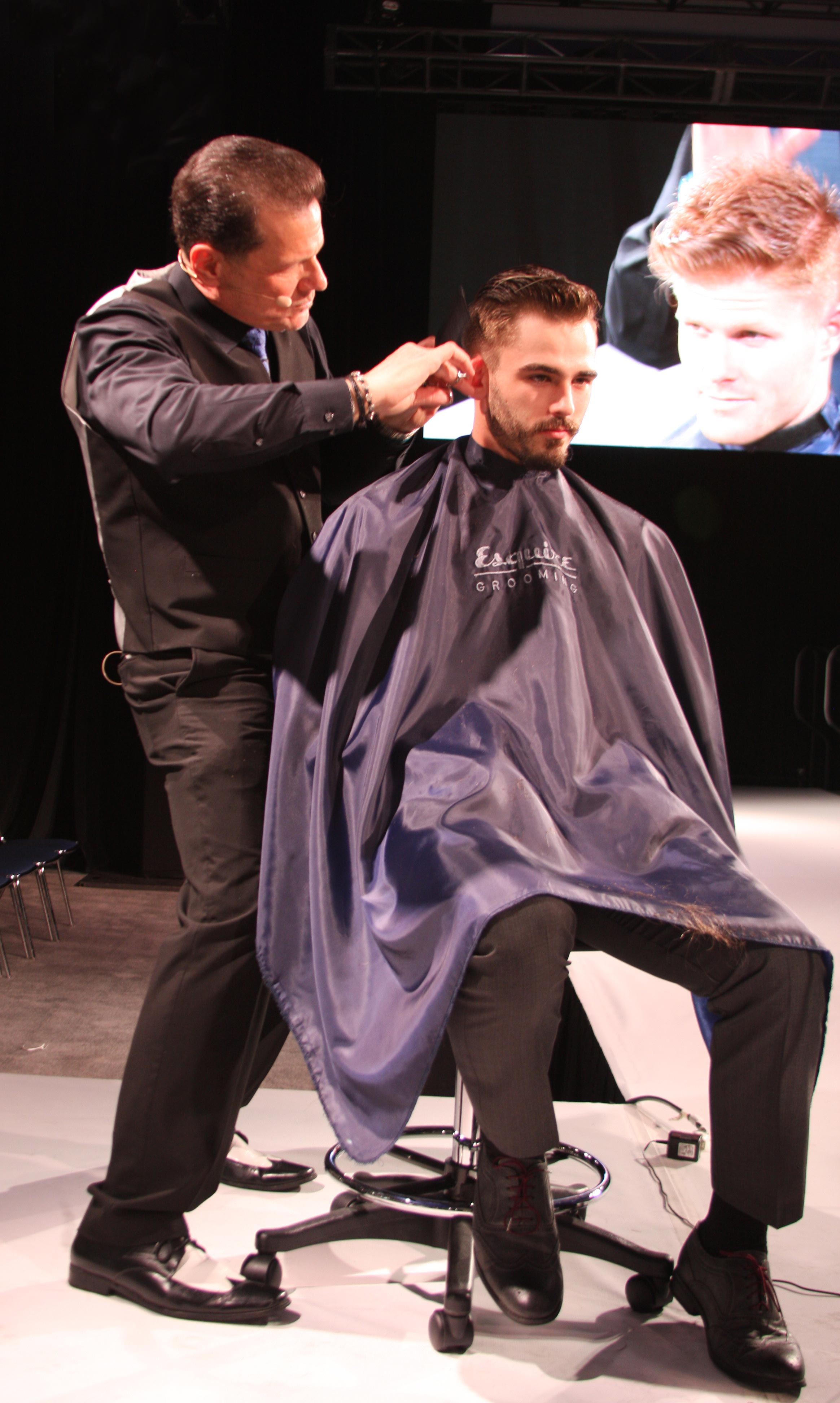 The Men's Hairstylist vs. The Barber and the Scissor-Over-Comb Technique