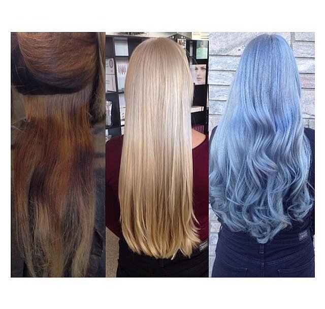 TRANSFORMATION: Breathtaking Silver/Lilac Color Melt
