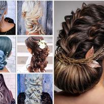 15 Boho Updos and Braids Perfect for Wedding Hair Inspiration by Sara Ortega @hairspray_studio