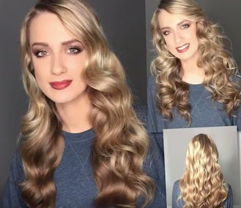 Watch: Curling a Full Head, Reducing Strain, with CURLBAR from HOT TOOLS