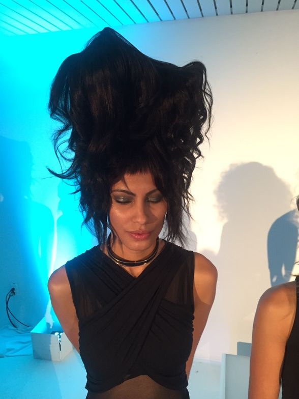 Hair by Omar Antonio, Twisted collection.