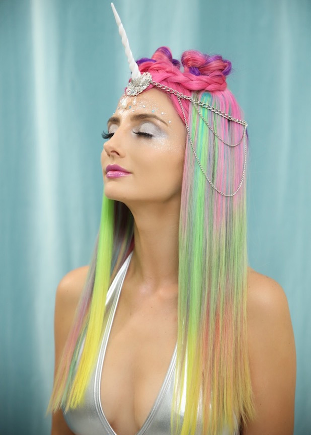 HOW-TO: Mythical Unicorn-Inspired Haircolor