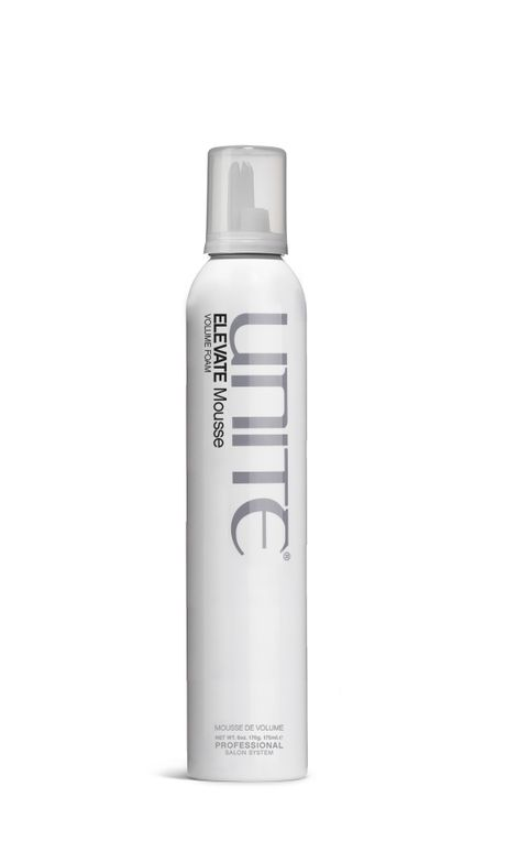"<p>""Unite Elevate Mousse! Doesn't make you feel like you're using grandma's hair products—no crunchy, matte curls. Gives you flexibility with the style while still providing gorgeous shine!""</p> <p>-@<a href=""https://www.instagram.com/hairbyerinc/""><strong>hairbyerinc</strong></a></p>"
