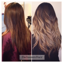 Creating a Smooth Transition: Color Melt and Balayage