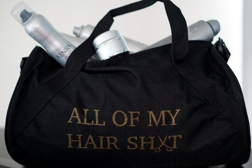 <strong>JaeLace</strong>: Created by a hairdresser for hairdressers, items from JaeLace show the world that being a stylist is the new black. Cool, clever, and well-made, these items are all about living your best hair life, from a duffel to carry all your hair sh*t, to matching t-shirts for you and your hair bestie.