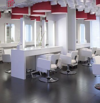 "Judges' Comments: ""Wow! An impressive amount of thought was put into the architectural design of the space, allowing the salon to utilize every square inch.""—Conti"
