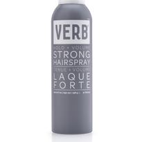 Verb Presents Strong Hairspray with Amped Up Hold and Volume