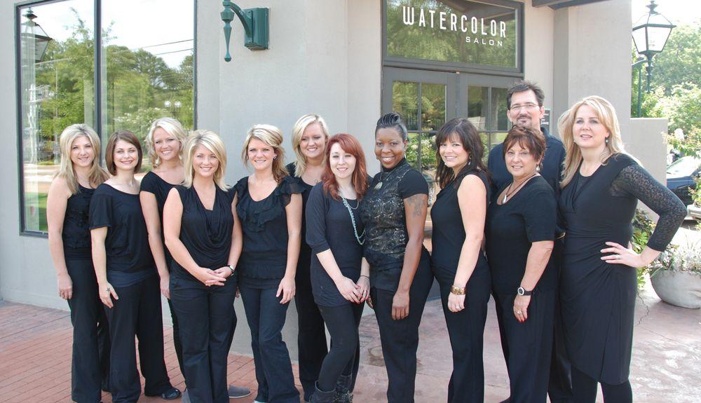 Staff of Watercolor Salon/Spa in Ridgeland, Mississippi