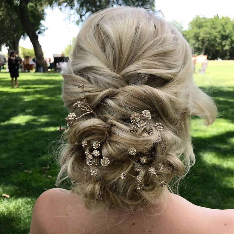 Bridal hair by Anna Peters