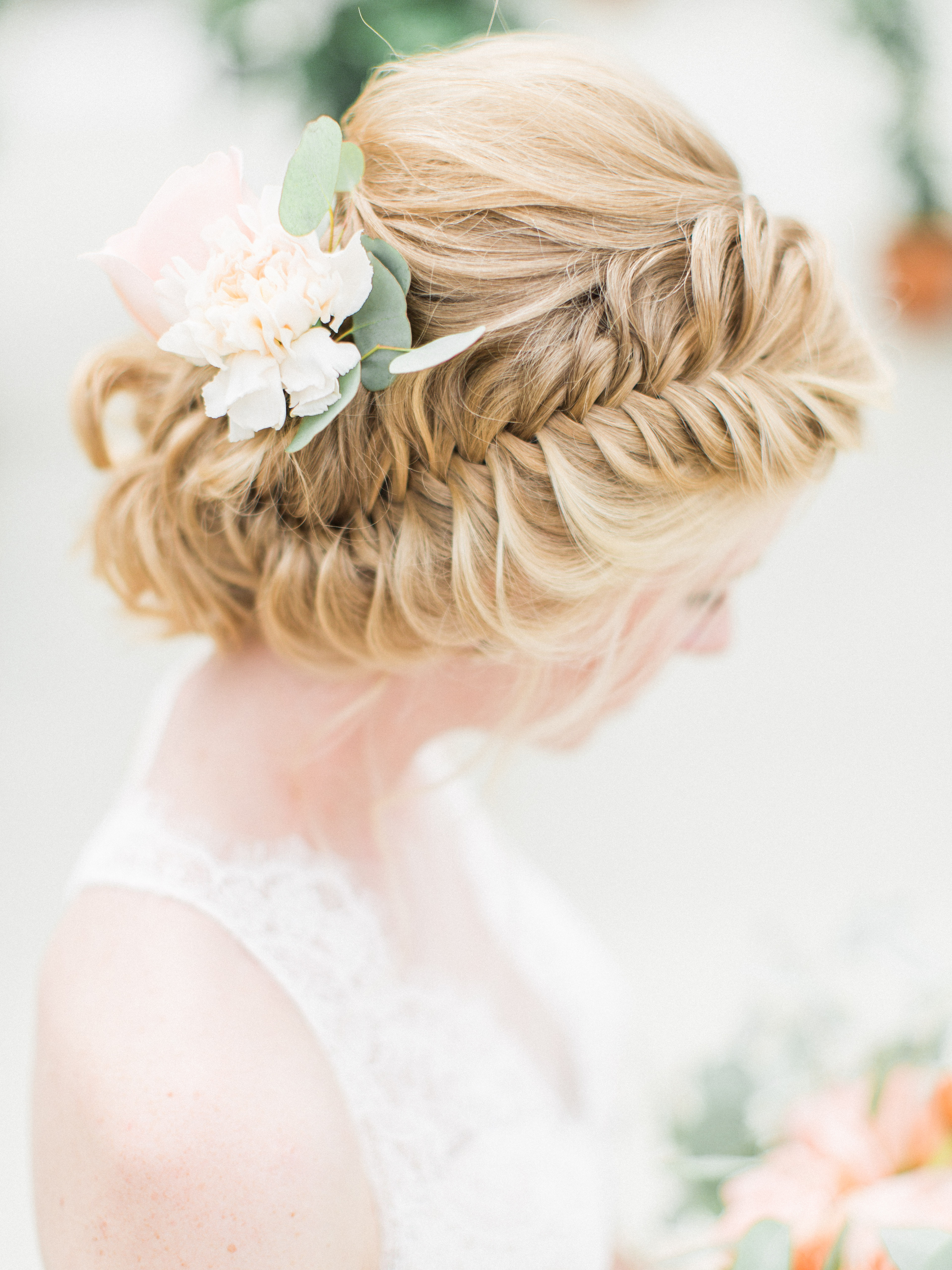 The Grown-Up Fishtail: Incorporating a Braid into a Wedding Updo