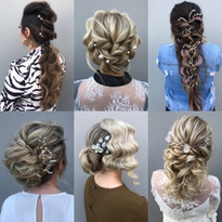 Three of Instagram's Best Bridal Stylists Share Their Tips for Updo Success