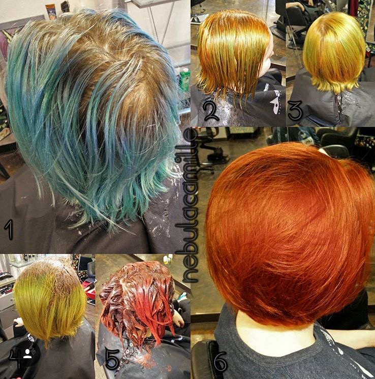 COLOR CORRECTION: From Red to Blue to