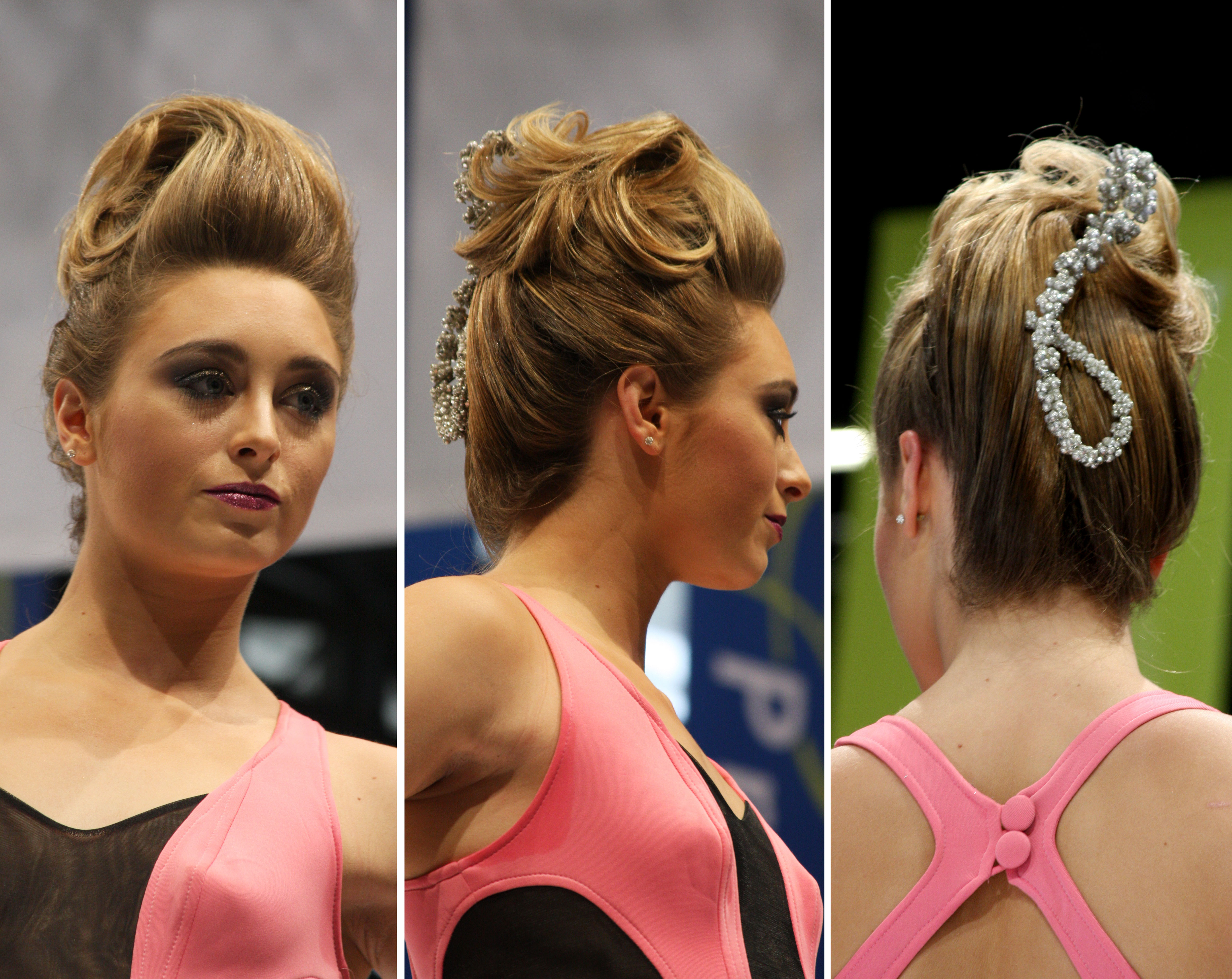 HOW-TO: Headliner William De Ridder's Short Cuts and Formal Beehive Styles at America's Beauty Show