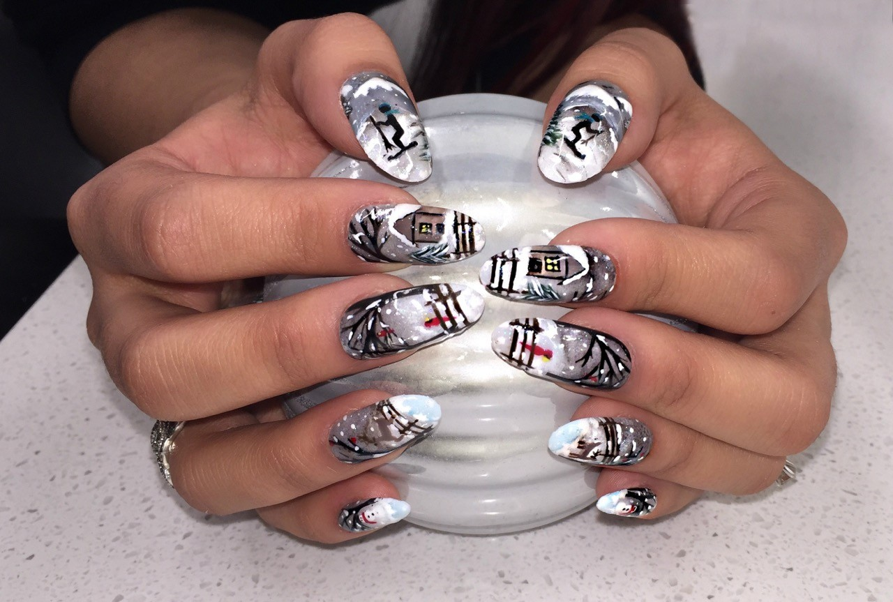 Winner of Mario Tricoci Hair Salons & Day Spas' Nail Art Contest Announced