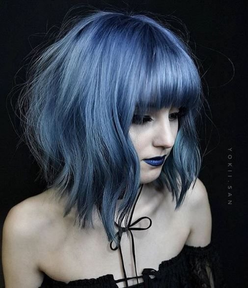 Gothic blue, just for you!