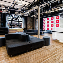 The Youtube studio in NYC.