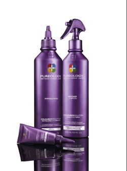 New Pureology product for hair color processing