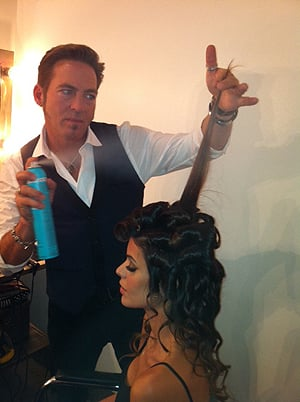 Behind the Scenes at Sexy Hair Ad Campaign